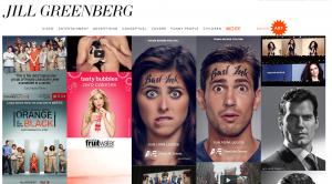 jillgreenberg.com Screen Shot